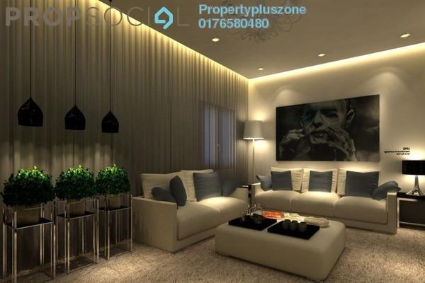For Sale Condominium at Lagoon Residences, Kota Kemuning Freehold Fully Furnished 3R/2B 458k