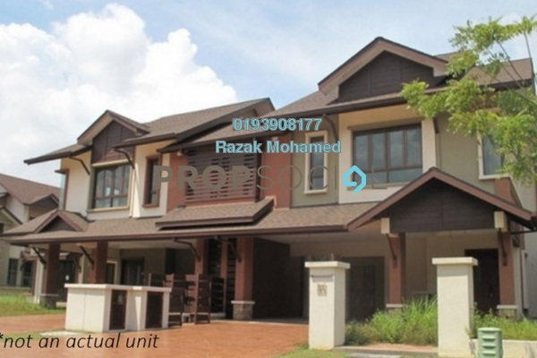 For Sale Semi-Detached at Lagenda 2, Bukit Jelutong Freehold Semi Furnished 4R/4B 1.3m