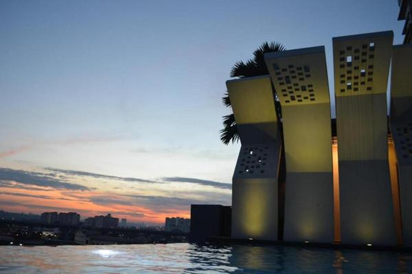 For Rent Condominium at MKH Boulevard, Kajang Freehold Fully Furnished 2R/2B 1.8k