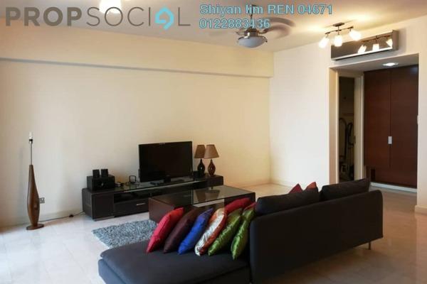 For Rent Condominium at Tiffani Kiara, Mont Kiara Freehold Fully Furnished 1R/2B 3k