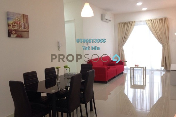 For Sale Condominium at Scenaria, Segambut Freehold Fully Furnished 3R/2B 700k