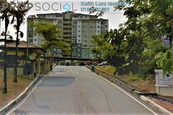 For Rent Condominium at Casa Riana, Bandar Putra Permai Freehold Fully Furnished 3R/2B 1.3k