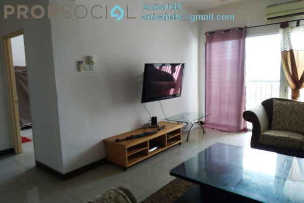 For Sale Condominium at Ampang Putra Residency, Ampang Freehold Semi Furnished 3R/3B 420k