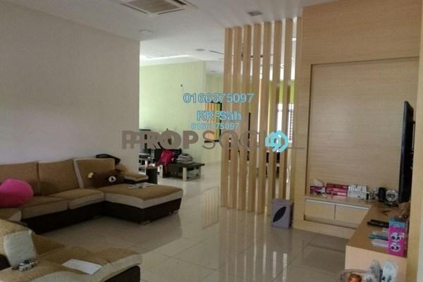 For Sale Superlink at Serdang Heights, Seri Kembangan Freehold Semi Furnished 5R/5B 1.3m