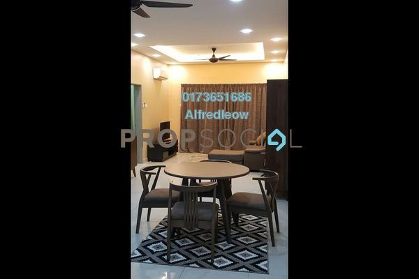 For Rent Condominium at DeSkye Residence, Jalan Ipoh Freehold Semi Furnished 3R/2B 1.4k