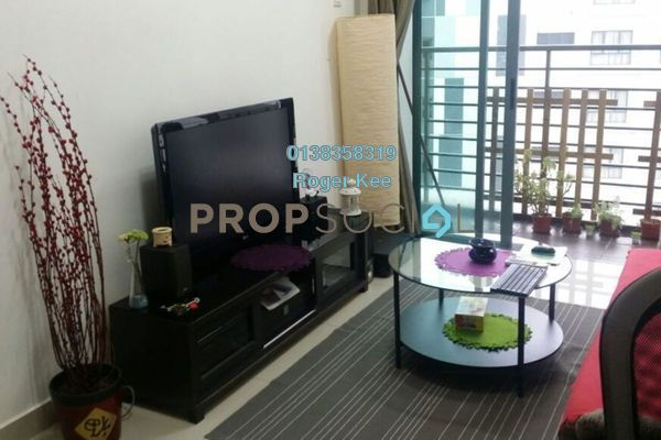 For Rent Condominium at D'Pulze Residence, Cyberjaya Freehold Fully Furnished 1R/1B 1.4k
