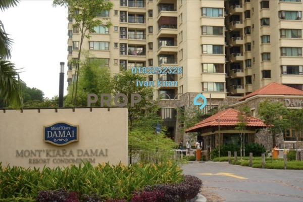 For Sale Condominium at Mont Kiara Damai, Mont Kiara Freehold Fully Furnished 4R/4B 2.15m