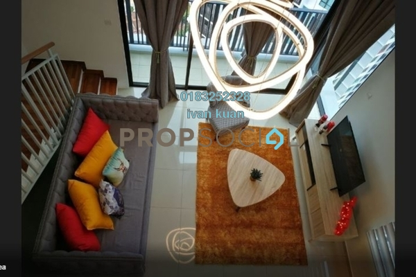 For Sale Condominium at i-City, Shah Alam Freehold Fully Furnished 1R/2B 520k