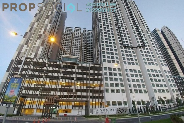 For Sale Condominium at D'Summit Residences, Skudai Freehold Semi Furnished 3R/2B 433k