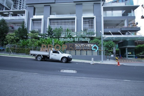 For Sale Serviced Residence at South View, Bangsar South Freehold Unfurnished 3R/2B 1m