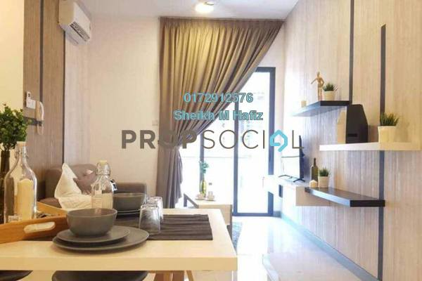 For Sale Serviced Residence at South View, Bangsar South Freehold Fully Furnished 2R/2B 750k