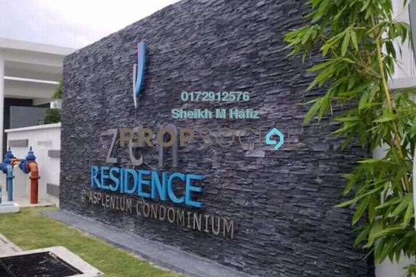 For Sale Condominium at Zen Residence, Puchong Leasehold Unfurnished 3R/2B 470k
