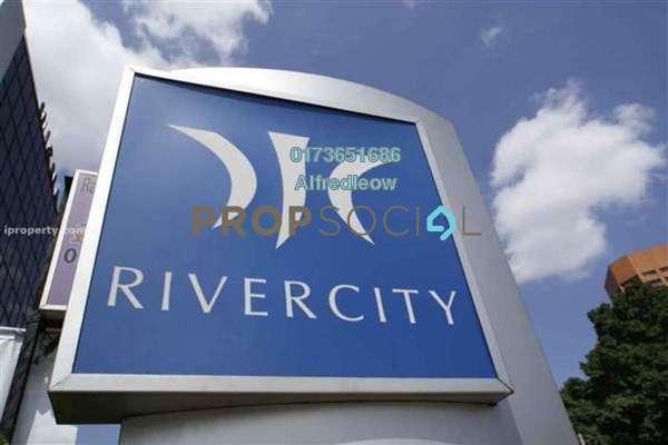 For Rent Condominium at Rivercity, Sentul Freehold Semi Furnished 3R/2B 1.75k