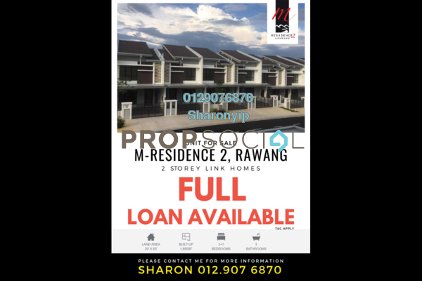For Sale Terrace at M Residence 2, Rawang Leasehold Unfurnished 4R/3B 475k