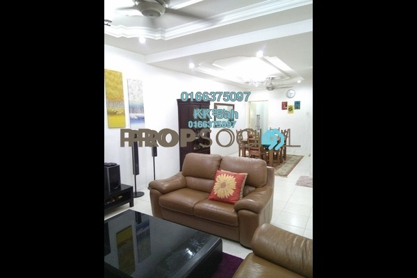 For Sale Link at Section 2, Bandar Mahkota Cheras Freehold Semi Furnished 4R/3B 738k