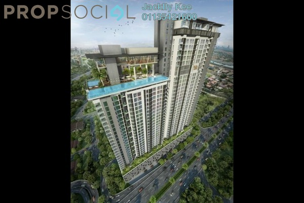 For Sale Condominium at Waltz Residences, Kuala Lumpur Freehold Semi Furnished 3R/3B 776k