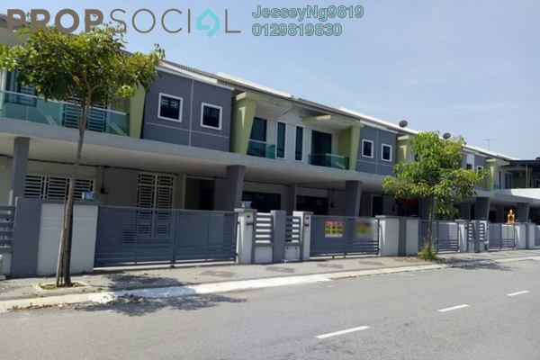 For Rent Terrace at Tiara Lake Park, Ipoh Freehold Unfurnished 4R/3B 1.1k