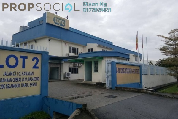 For Sale Factory at Cheras Jaya Industrial Park, Balakong Freehold Fully Furnished 1R/1B 12m
