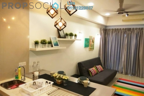 For Sale Condominium at Gaya Bangsar, Bangsar Freehold Fully Furnished 0R/1B 680k