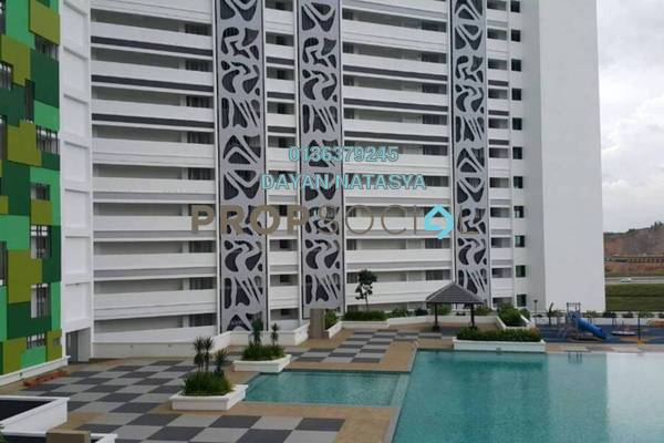 For Rent Condominium at V'Residence, Cyberjaya Freehold Unfurnished 4R/3B 2k