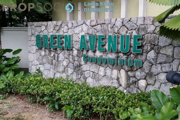 For Sale Condominium at Green Avenue, Bukit Jalil Freehold Semi Furnished 4R/2B 558k