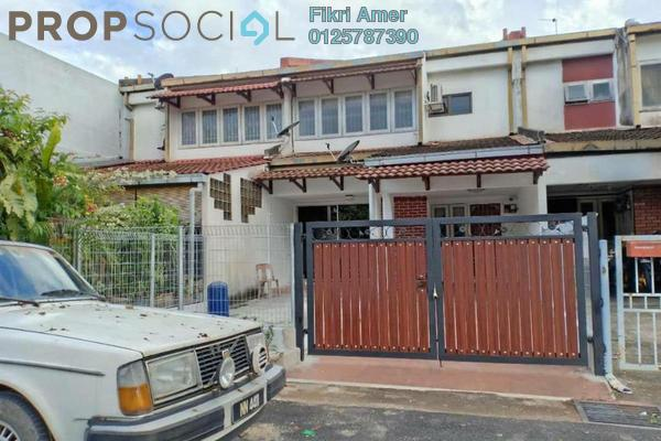 For Sale Terrace at Taman Permata, Wangsa Maju Freehold Unfurnished 4R/3B 850k