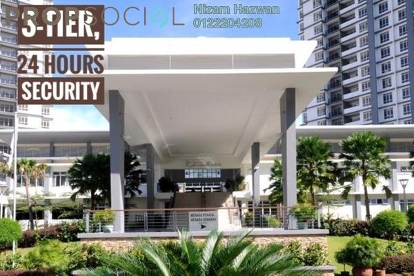For Sale Condominium at Semarak Condominium, Batu Caves Leasehold Semi Furnished 3R/2B 398k