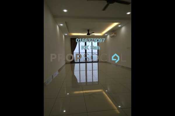 For Rent Condominium at You Residences @ You City, Batu 9 Cheras Freehold Semi Furnished 3R/2B 1.7k