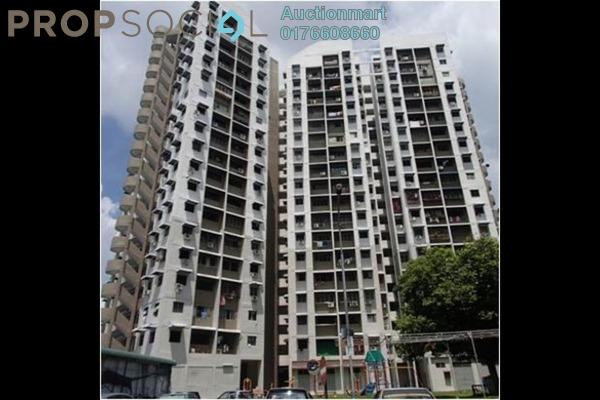 For Sale Apartment at Kampung Melayu, Air Itam Freehold Unfurnished 0R/0B 75k