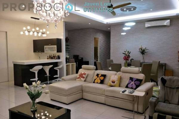 For Sale Condominium at Begonia, Bangsar South Freehold Fully Furnished 4R/4B 1.5m