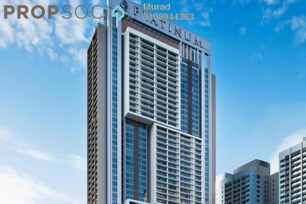 For Sale Serviced Residence at Platinum Suites, KLCC Freehold Fully Furnished 2R/1B 1.5m