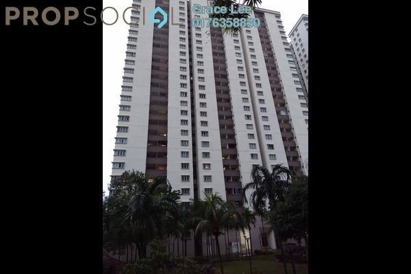 For Rent Condominium at Aman Heights, Seri Kembangan Freehold Semi Furnished 4R/2B 1.15k