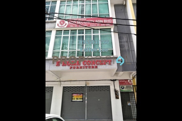 For Sale Shop at Pusat Perdagangan Tasek Indra, Ipoh Freehold Semi Furnished 0R/0B 1.1m
