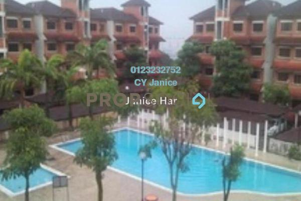 For Sale Apartment at Excelsa Apartment, Seri Kembangan Freehold Semi Furnished 3R/2B 288k