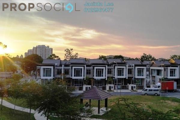 For Sale Terrace at Emerald Residenz, Bandar Seri Alam Freehold Semi Furnished 5R/5B 802k