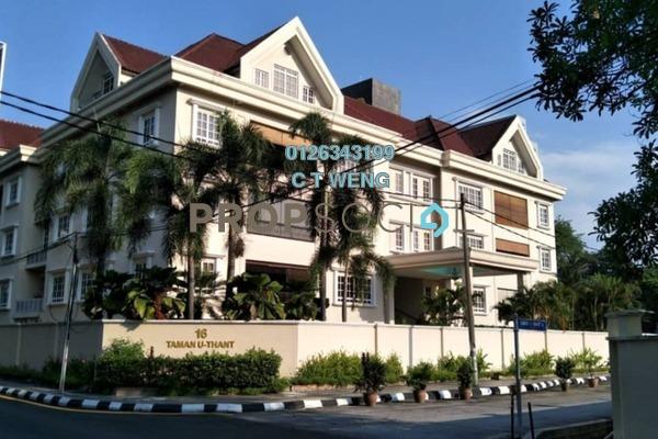 For Rent Condominium at 16 Taman U-Thant, Ampang Hilir Freehold Semi Furnished 4R/6B 10k