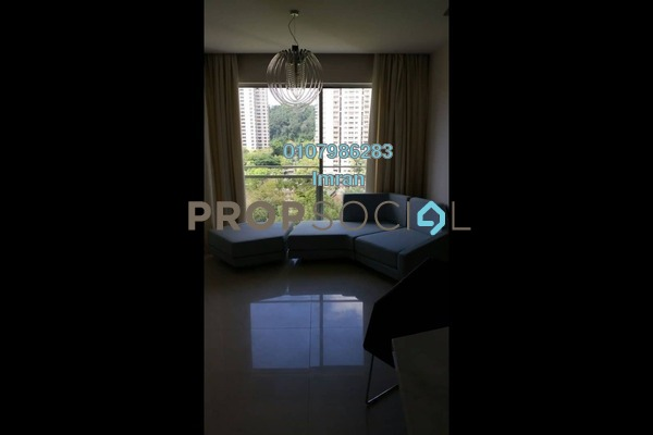 For Rent Serviced Residence at VERVE Suites, Mont Kiara Freehold Fully Furnished 1R/1B 2.7k