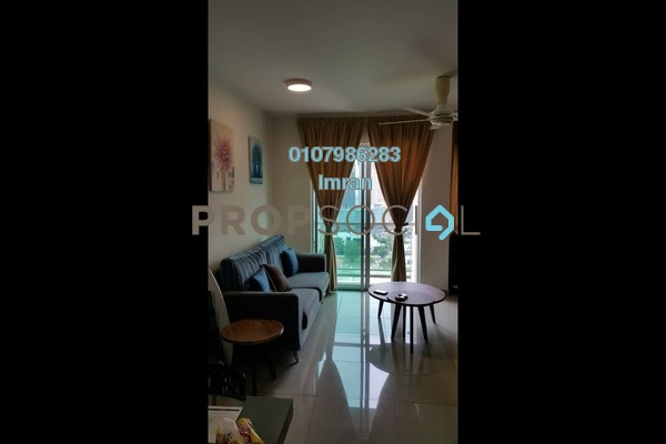 For Rent Serviced Residence at Solaris Dutamas, Dutamas Freehold Fully Furnished 1R/1B 2.9k