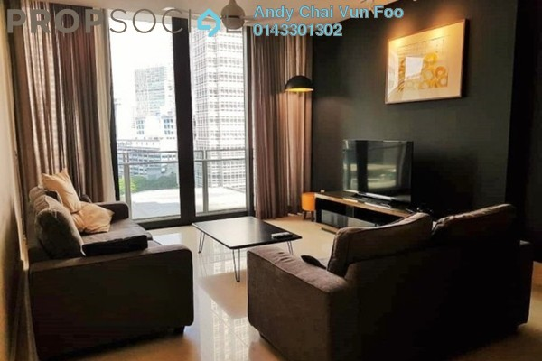 For Sale Condominium at 6 CapSquare, Dang Wangi Freehold Fully Furnished 2R/2B 1.2m