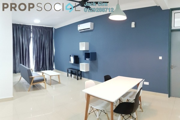 For Rent Serviced Residence at Boulevard Serviced Apartment, Jalan Ipoh Freehold Fully Furnished 3R/2B 1.6k