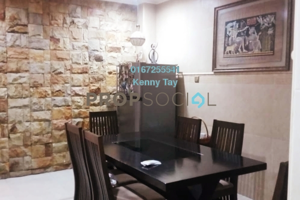 For Sale Terrace at Taman Sri Bintang, Kepong Freehold Semi Furnished 6R/4B 1.25m