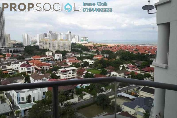For Rent Condominium at Marina Bay, Tanjung Tokong Freehold Fully Furnished 3R/2B 2.1k