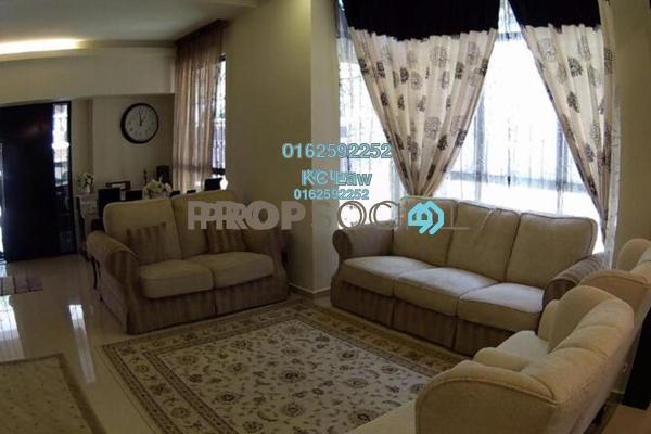 For Sale Terrace at Damansara Emas, Kota Damansara Freehold Semi Furnished 4R/4B 1.7m