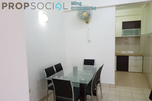 For Sale Apartment at Seri Galaksi Apartment, Subang Leasehold Fully Furnished 3R/2B 320k
