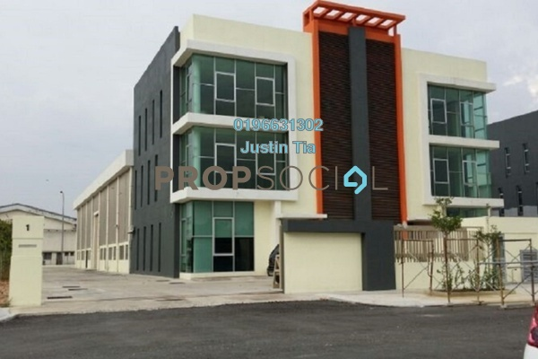 For Rent Factory at Bukit Kemuning Industrial Park, Kota Kemuning Freehold Semi Furnished 0R/6B 25k
