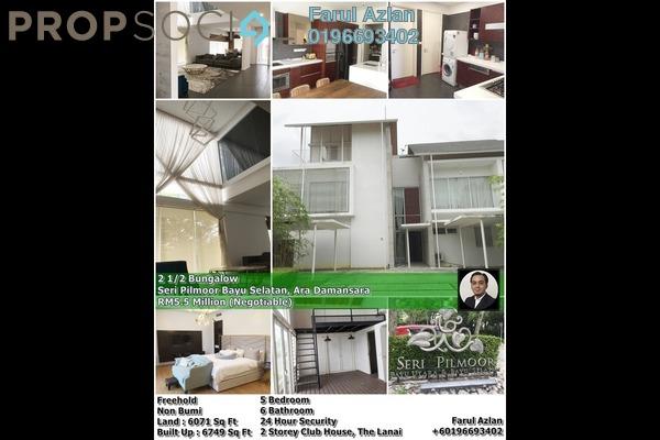 For Sale Bungalow at Seri Pilmoor, Ara Damansara Freehold Semi Furnished 5R/6B 5.5m