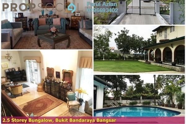 For Sale Bungalow at Bukit Bandaraya, Bangsar Freehold Semi Furnished 5R/6B 5.5m