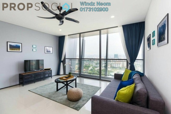 For Rent Condominium at The Fennel, Sentul Freehold Fully Furnished 2R/2B 3.8k