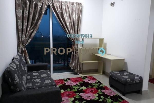 For Rent Serviced Residence at De Centrum Residences, Kajang Freehold Fully Furnished 2R/1B 1.6k