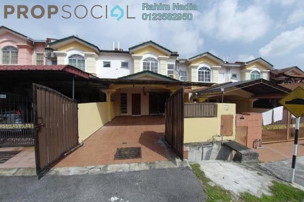For Sale Terrace at Seksyen 8, Bandar Baru Bangi Freehold Semi Furnished 4R/3B 530k